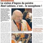 La Voix du Nord - Abel Leblanc