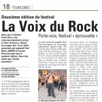 Juin 2011 - La Voix du Rock