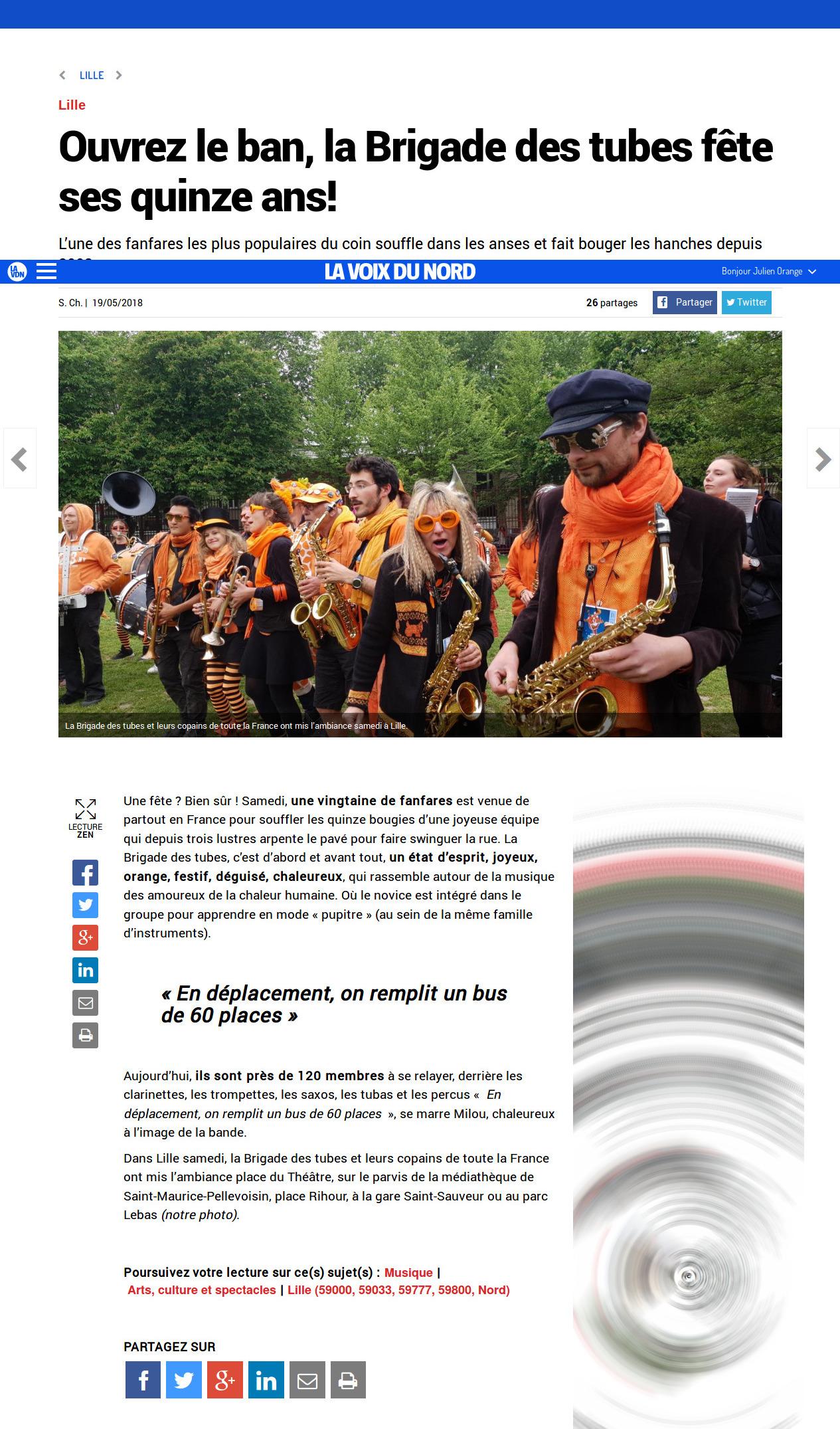 Screenshot-2018-5-28 Lille - Ouvrez le ban, la Brigade des tubes fête ses quinze ans