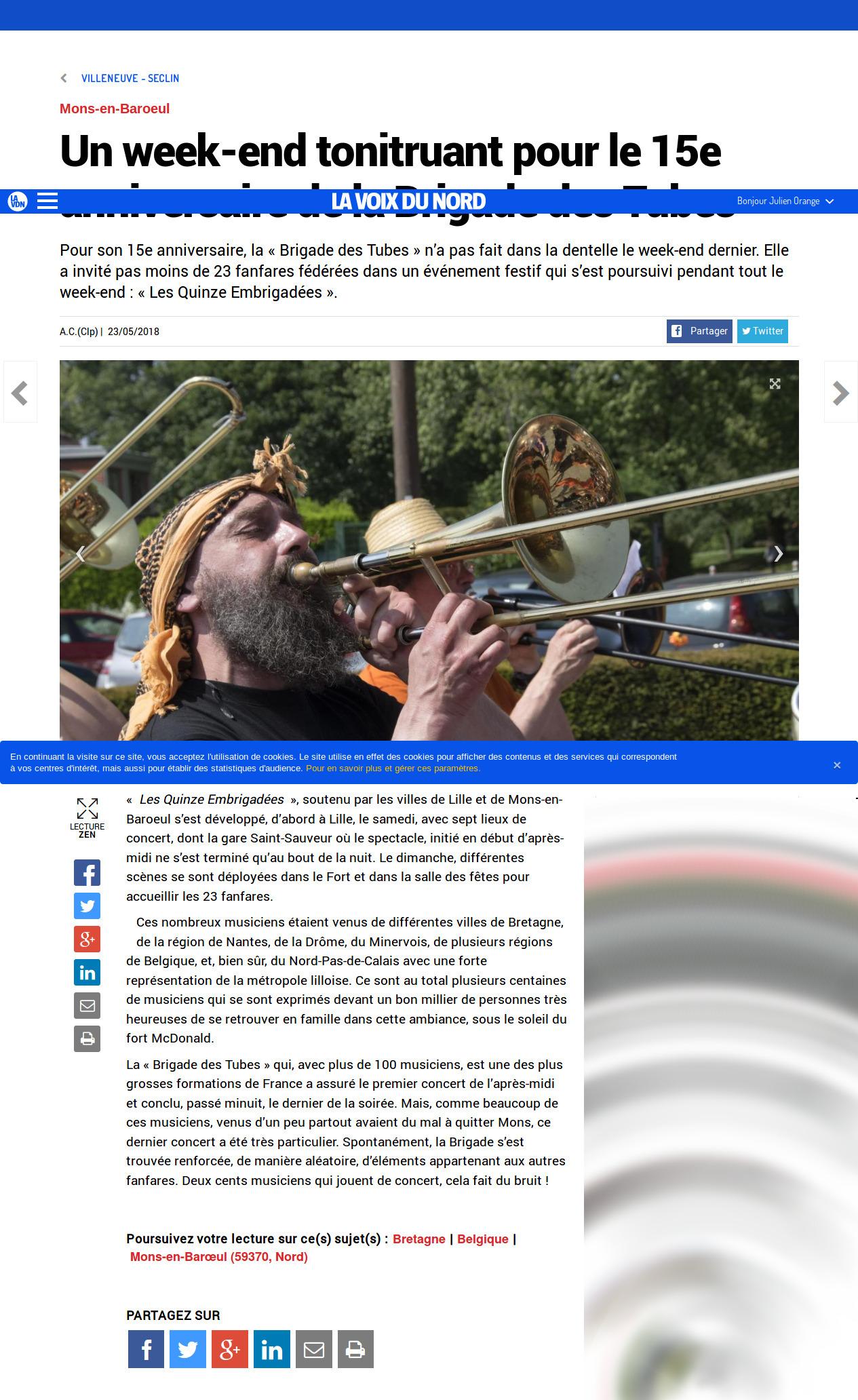 Screenshot-2018-5-28 Mons-en-Baroeul - Un week-end tonitruant pour le 15e anniversaire de la Brigade des Tubes
