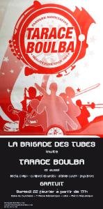 La Brigade des Tubes invite Tarace Boulba