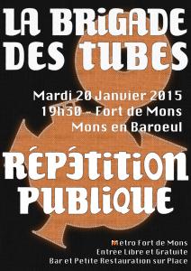 Répétition Publique Janvier 2015