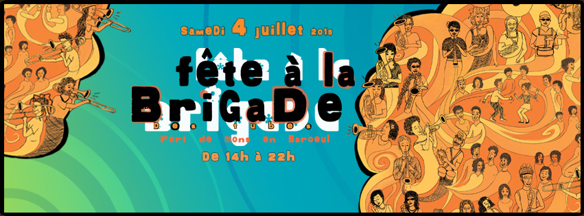 Bandeau Fete à la Brigade 2015
